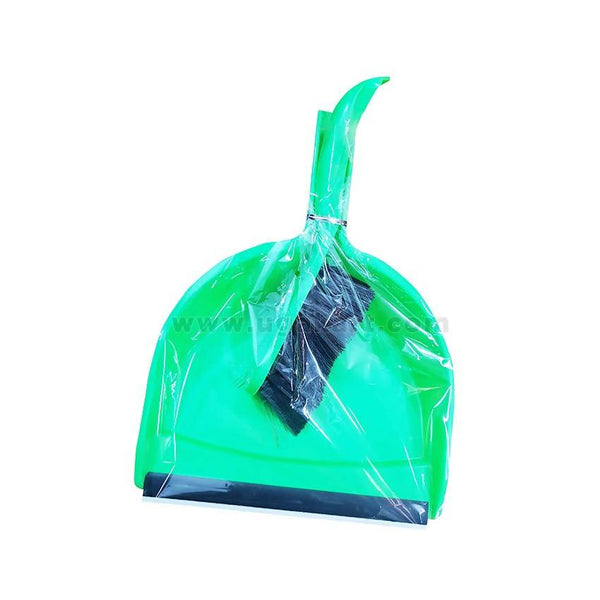 Dustpan With Brush-Green