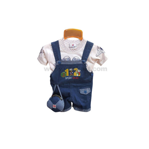 Dungaree Dress For Boy_2 m to 9 m
