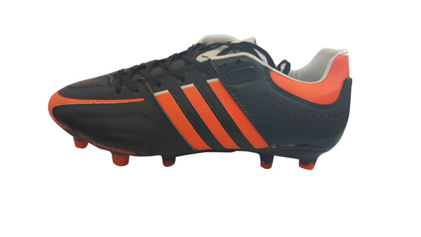 Mens Low Top Football Boots - Black & Red