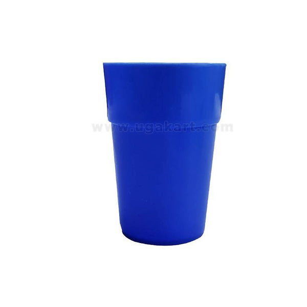Blue - Plastic Glass