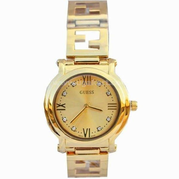 Guess Gold Analog Women's Watch