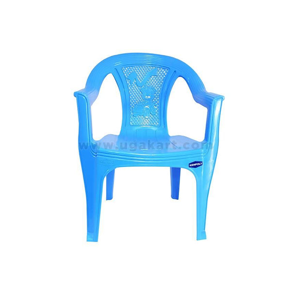 Kenpoly Plastic Baby Chair - Light Blue