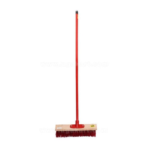 60cm Bass Broom With Wooden Handle