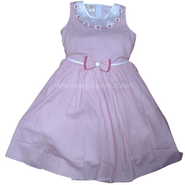 Designer Girls Dress with Bow Strap (6-8yrs)
