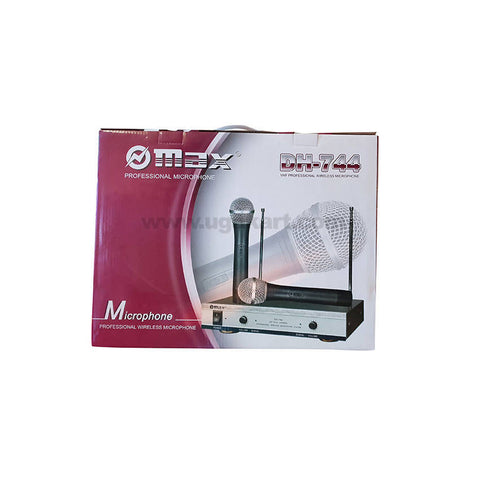 Max Professional Wireless Microphone-Dh-744