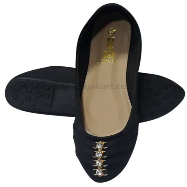 Black Flat Shoe For Women