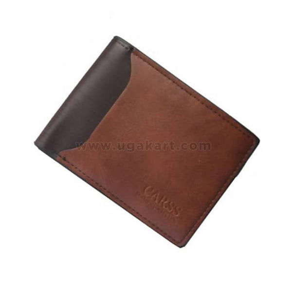 Carss Men's Leather Wallet - Brown