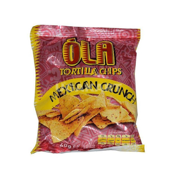 Ola Tortilla Chips (Mexican Crunch) 40Gm