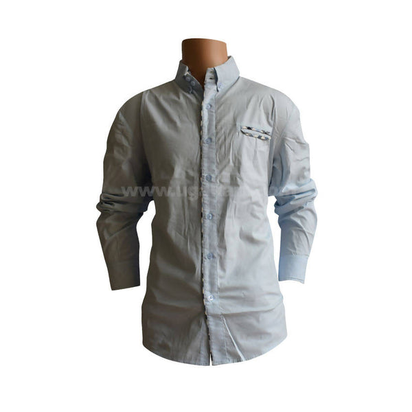 Sky Blue Colour Full Sleeves Shirt