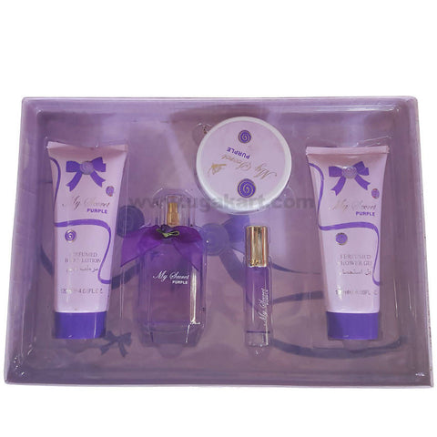 My Secret Purple Body Lotion &Shower Gel With Perfume Gift Box