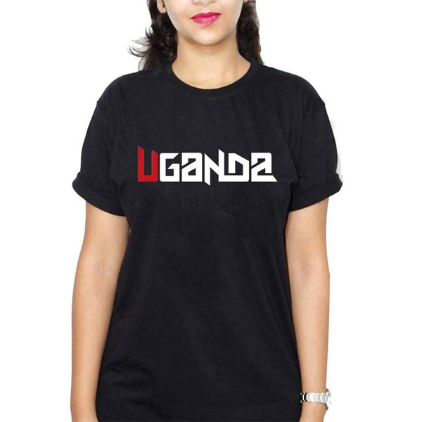 Uganda Women's T-Shirt - Black