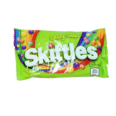Crazy Sours Skittles