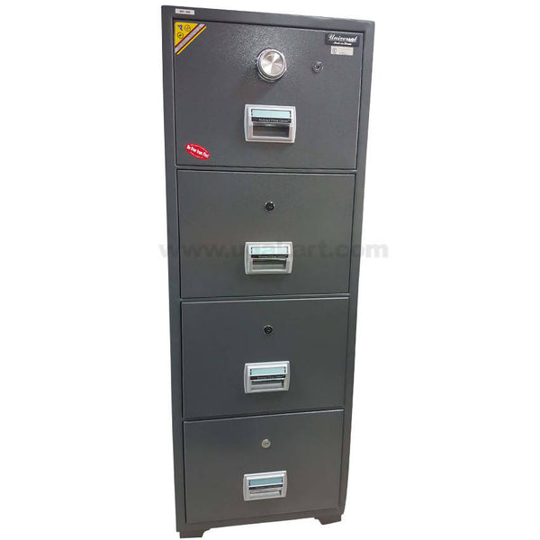 Universal Fire-Resistance-Safe with 3 Drawer-BIF-400-(Dial Lock)