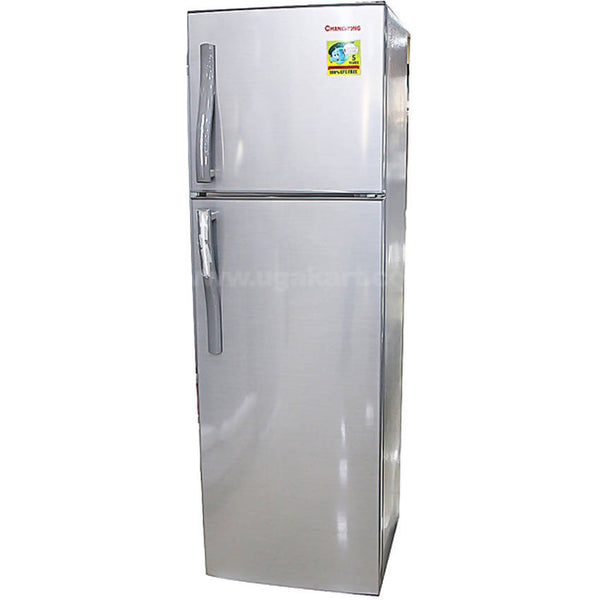 Changhong Silver CD-220 - Double Door Refrigerator - 220L