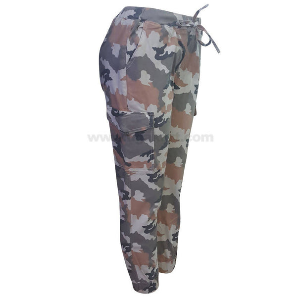 Camo Cargo Pants For Women