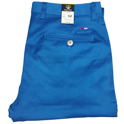 Dodger Blue Trouser For Men