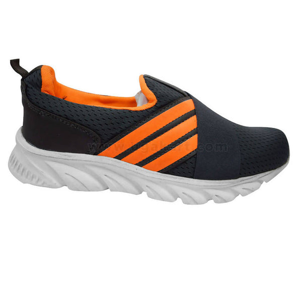 Free Style Canvas Shoes Dark Blue and Orange