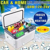 12L Refrigerator Dual-Use Home Car Refrigerators Mini Freezer