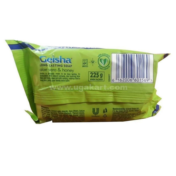 Geisha Aloe Vera & Honey Long Lasting Soap 225gm