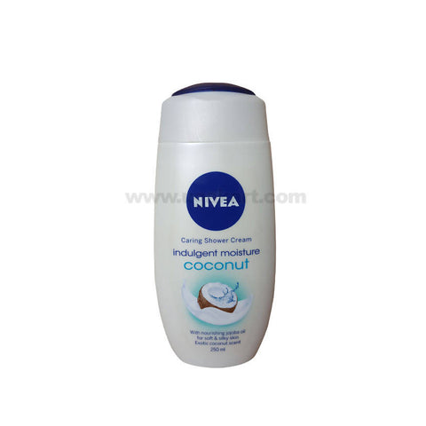 Nivea Indulgent Moisture Coconut Shower Cream_250ml