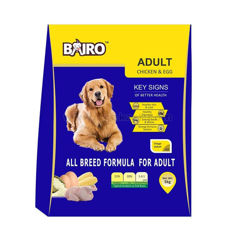 Dog Food Bairo-Adult Chicken&Egg