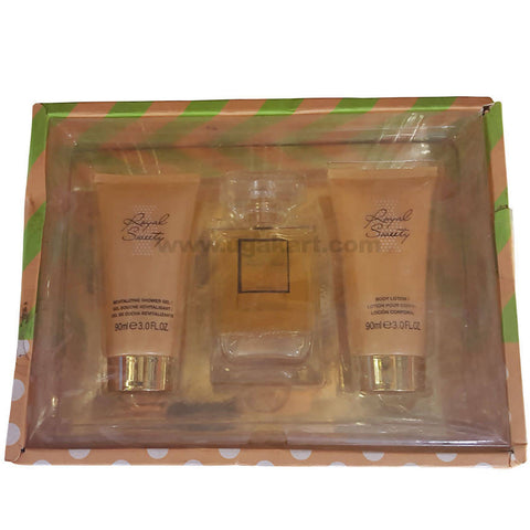 Royal Sweety Body Lotion &Shower Gel With Perfume Gift Box