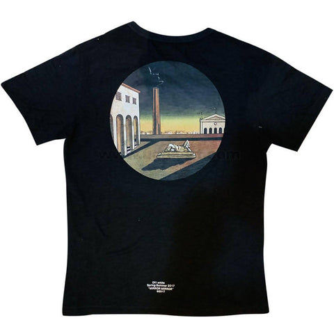 Men's Black Designer T-Shirt