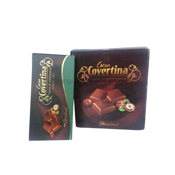 Covertina Chocolate With Hazelnut 100gm-12pc