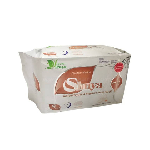 SHUYA Sanitary Pads (Night Use - Long Size) -8 Pads