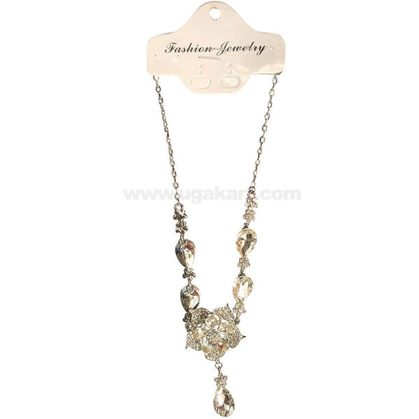 Fashion Jewelry Diamond Stone Necklace