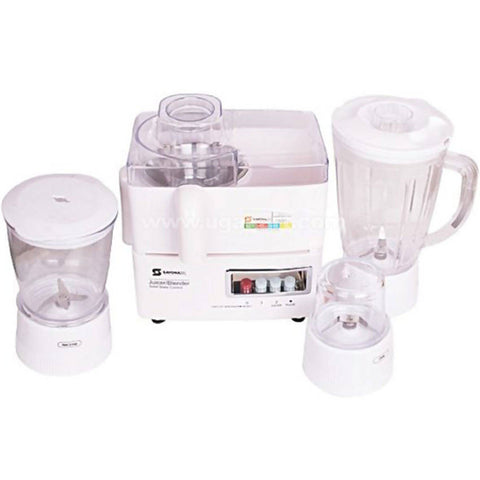 Sayona NL SB-3555 400W 4 In1 Heavy Duty Blender/Juicer - White