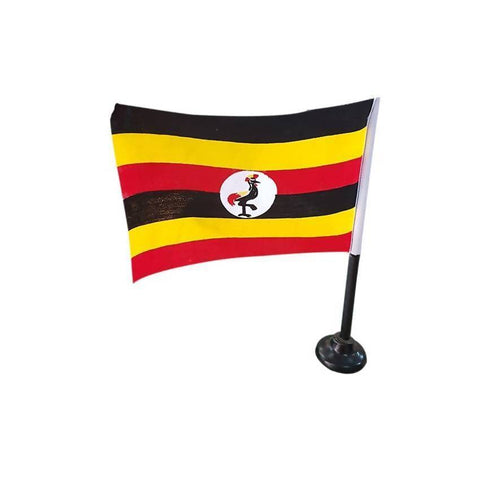 Uganda Table Flag