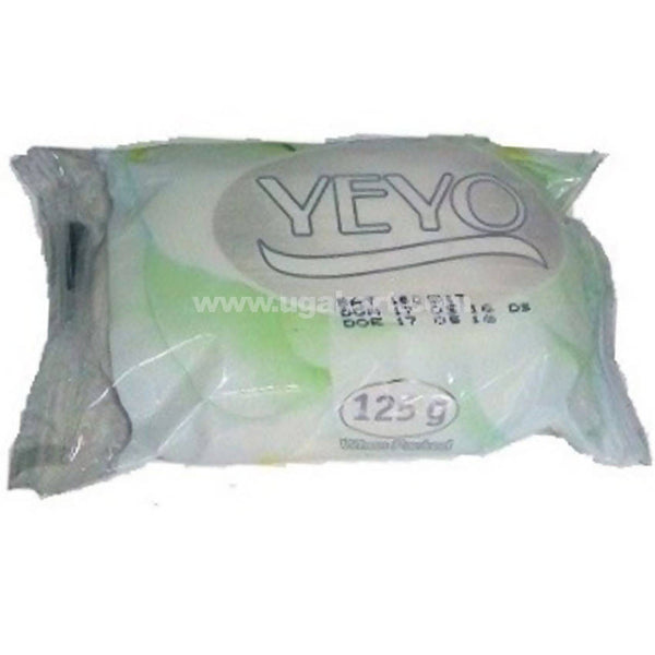YEYO TOILET SOAP 125G - WHITE