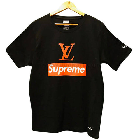 Louis Vuitton Black Men's T-Shirt