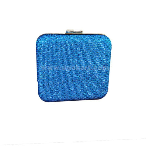 Women's Evening Clutch Bag - Blue