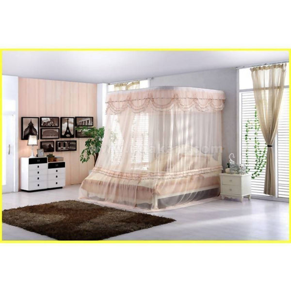 Light Pink-Flat Design Mosquito Net - All Sizes