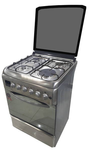 D6031ERF 3 Gas Burner Cooker + 1 Electric Plate + Electric Oven