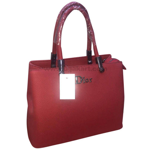 Dior Ladies Red Hand Bag