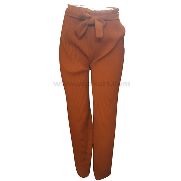 Women's Light Weight Brown Pant