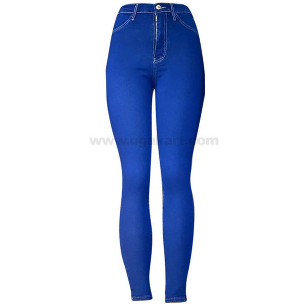 Light Blue Skinny High Waisted Women's Jeans