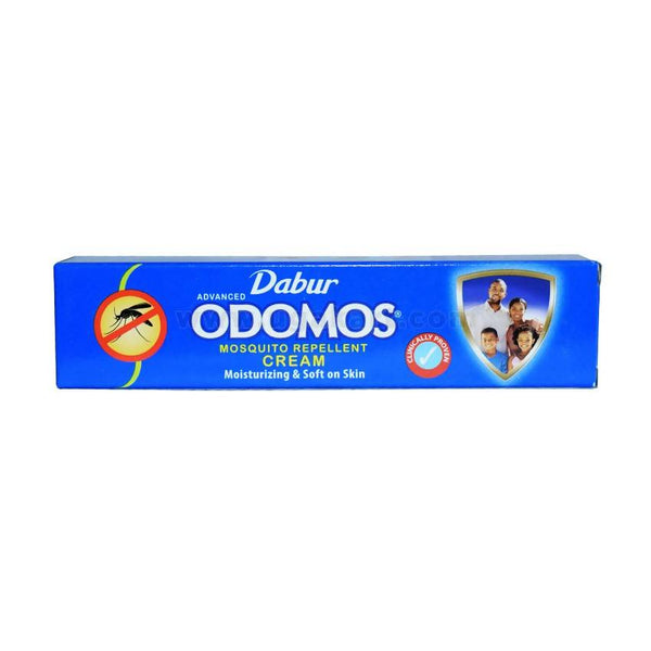 Dabur Odomos Mosquito Repellent Cream Moisturizing & Soft On Skin 50gm