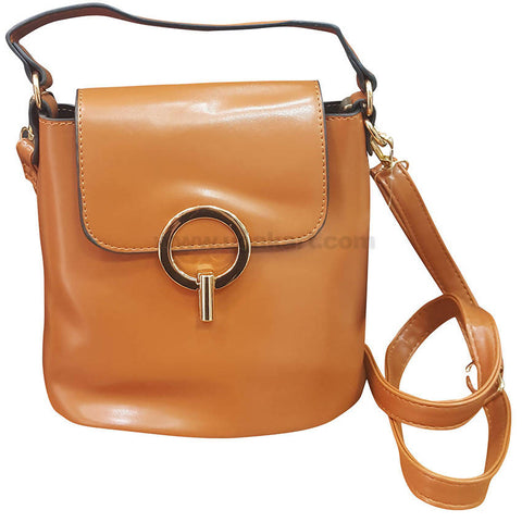 Q Brown Womens Cross Bag