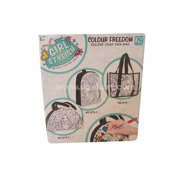 Colour Freedom Colour Your Own Bag_878-2