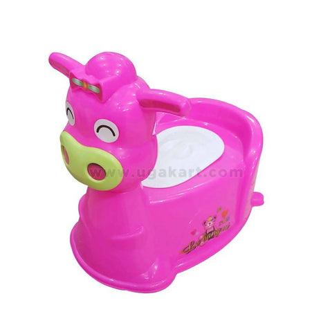 Dark Pink Baby Potty Chair