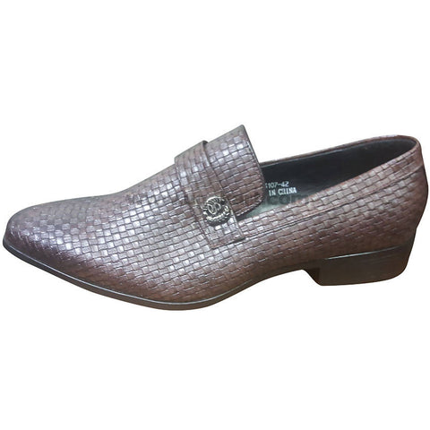 Men's Coffee Brown Slip On Shoes