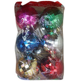 Multi-Color Decoration Balls Medium 6 Pcs