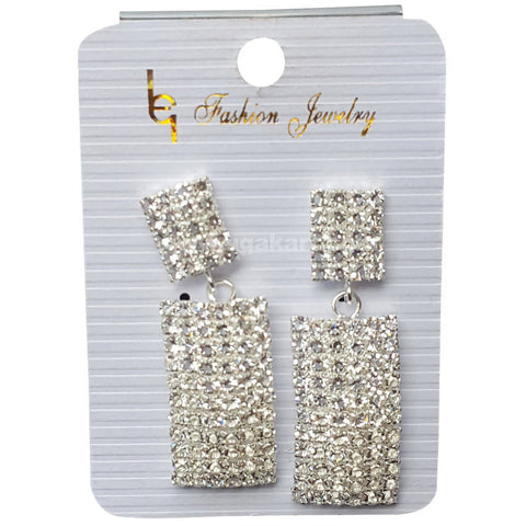 Fashion Jewelry Silver Earrings