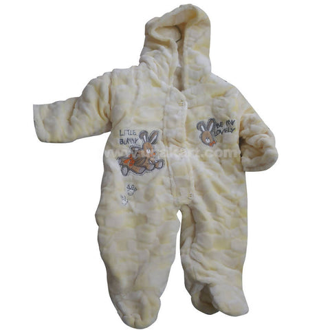 Light Yellow Baby Overall (0 to 6 month)