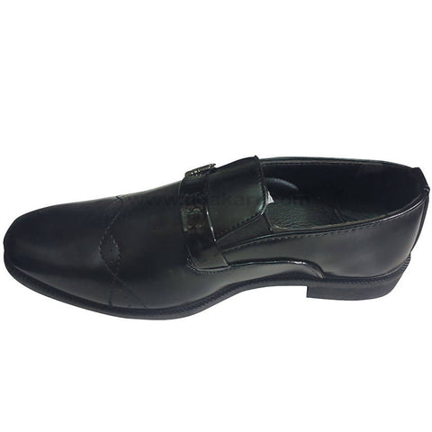 Slip-On Formal Black Boys Shoes(Size-25 to 36)