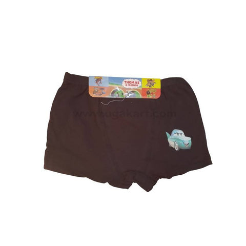 Brown Underware/Panties For Boys_2Pc_6Yrs To 10Yrs